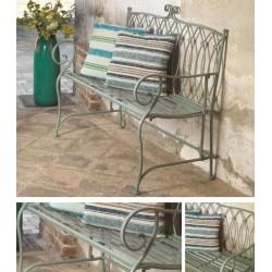Panchina in metallo da giardino verde nuova art.6453790000 consegna gratuita-arredamentishop.it   Offerte mobili 150,00€ 150...