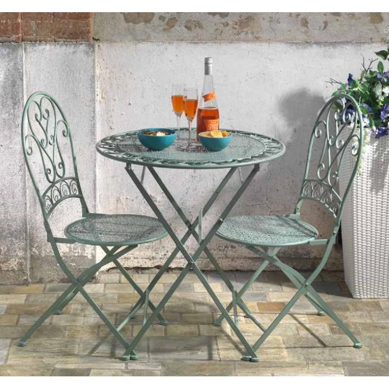 Offerte Tavoli Da Giardino In Ferro.Set Tavolo E Sedie Da Giardino In Ferro Nuovo Art 6453830000