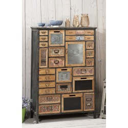 Cassettiera industriale vintage nuova art.45527 consegna gratuita-arredamentishop.it   Offerte mobili 270,00€ 270,00€ 270,0...