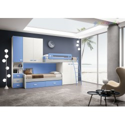 Camerette low cost art.GT4047 nuova-arredamentishop.it   Offerte mobili 1.100,00€ 1.100,00€ 1.100,00€ 1.100,00€