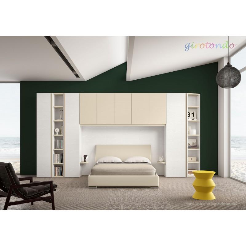 Ponte con letto matrimoniale art.GT4066 nuovo-arredamentishop.it   Offerte mobili 1.715,00€ 1.715,00€ 1.715,00€ 1.715,00€