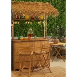 Mobile BAR da esterno in bambù con 2 sgabelli nuovo art.2612920000 consegna gratuita-arredamentishop.it   Offerte mobili 620,...