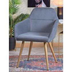 Poltroncina economica grigia set 2 pezzi nuova art.66737 consegna gratuita-arredamentishop.it   Offerte mobili 170,00€ 170,0...