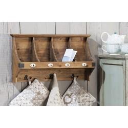 Attaccapanni da muro in legno con tre appendini nuovo art.45524 consegna gratis-arredamentishop.it   Offerte mobili 35,00€ 3...