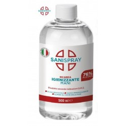 Gel igienizzante mani 500 ml ricarica Sanispray art.68103 consegna gratuita-arredamentishop.it   Offerte mobili 5,00€ 5,00€...