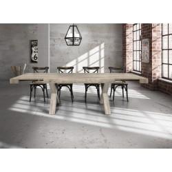 Tavolo invecchiato allungabile nuovo art.818 consegna gratuita-arredamentishop.it   Offerte mobili 540,00€ 540,00€ 540,00€...