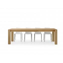 Tavolo rovere naturale allungabile 180x90 nuovo art.634 consegna gratuita-arredamentishop.it   Offerte mobili 690,00€ 690,00...