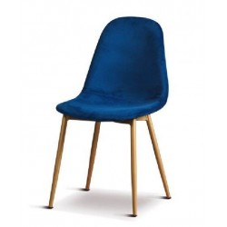 Sedia in velluto blu set 2 pezzi nuova art.66726 consegna gratuita-arredamentishop.it   Offerte mobili 120,00€ 120,00€ 120,...