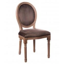 Poltroncina Luigi XVI marrone set 2 pezzi art.64138 nuova consegna gratuita-arredamentishop.it   Offerte mobili 220,00€ 220,...