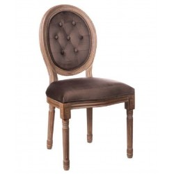 Poltrona stile Luigi XVI marrone set 2 pezzi nuova art.64141 consegna gratuita-arredamentishop.it   Offerte mobili 220,00€ 2...