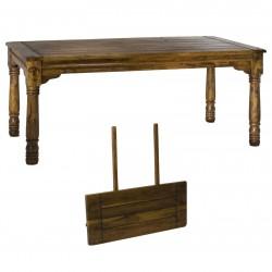 Tavolo massello allungabile 140/220x90H.76 nuovo art.8032970000 consegna gratuita-arredamentishop.it   Offerte mobili 400,00...