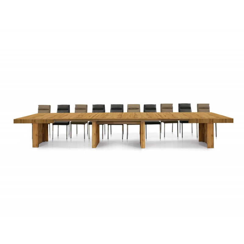 Tavolo Allungabile 4 Metri Moderno Nuovo Art 1679 Consegna Gratuita Arredamentishop It