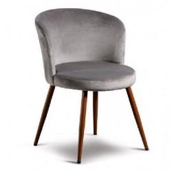 Poltrona in velluto grigia set 2 pezzi nuova art.60760 consegna gratuita-arredamentishop.it   Offerte mobili 160,00€ 160,00...