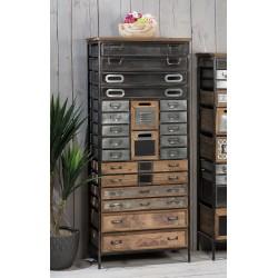 Cassettiera ferro e legno industriale nuova art.45521 consegna gratuita-arredamentishop.it   Offerte mobili 220,00€ 220,00€...