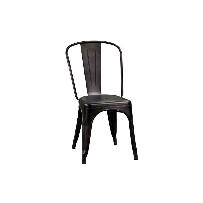 Sedia industrial nera set 4 pezzi nuovi art.8031840000 consegna gratuita-arredamentishop.it   Offerte mobili 250,00€ 250,00...