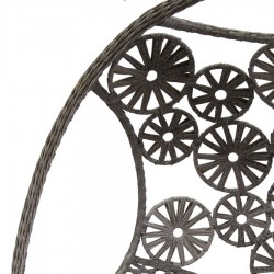 Poltrona a dondolo da giardino grigia nuova art.6457510000 consegna gratuita-arredamentishop.it  Vacchetti Offerte mobili 400...