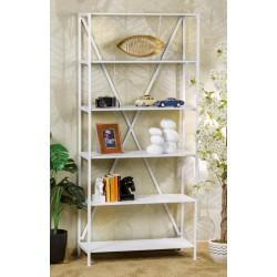Libreria in ferro bianca nuova art.60446 consegna gratuita-arredamentishop.it  AD TREND Offerte mobili 140,00€ 140,00€ 140,...