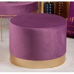 Pouf viola in velluto diametro 48 cm nuovo art.57785 consegna gratuita-arredamentishop.it  AD TREND Offerte mobili 65,00€ 65...