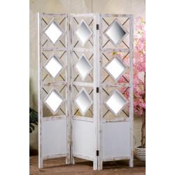 Separè in legno con specchi nuovo art.60138 consegna gratuita-arredamentishop.it  AD TREND Offerte mobili 160,00€ 160,00€ 1...