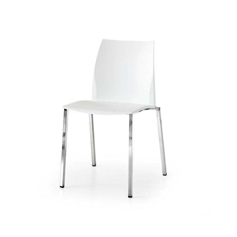Sedia bianca design set 4 pezzi nuova art.637 consegna gratuita-arredamentishop.it  Tempesta Offerte mobili 370,00€ 370,00€...