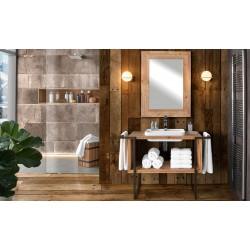 Bagno in legno massello di abete nuovo art.3302A-3314A-3315A consegna gratuita-arredamentishop.it  Zanini Offerte mobili 870,...
