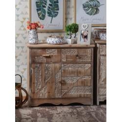 Credenza legno grezzo nuova art.49275 consegna gratis-arredamentishop.it   Offerte mobili 145,00€ 145,00€ 145,00€ 145,00€