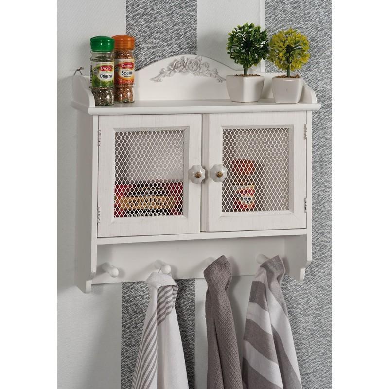 Mobile da parete per cucina con appendini nuovo art.50247 consegna  gratis-arredamentishop.it