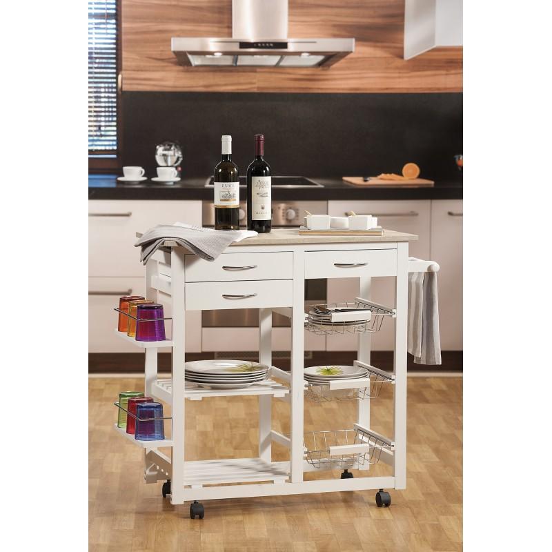 Carrello da cucina nuovo art.49159 consegna gratis-arredamentishop.it   Offerte mobili 95,00€ 95,00€ 95,00€ 95,00€