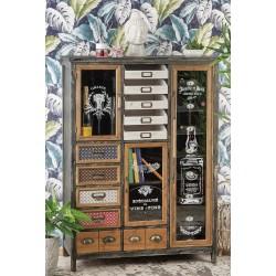 Arredamento design mobile in legno e metallo nuovo art.51666 consegna gratis-arredamentishop.it   Offerte mobili 410,00€ 410...