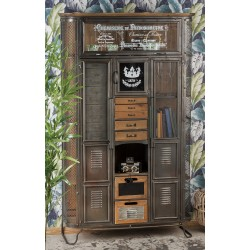 Mobile in metallo e legno industrial nuovo art.51668 consegna gratis-arredamentishop.it   Offerte mobili 550,00€ 550,00€ 55...