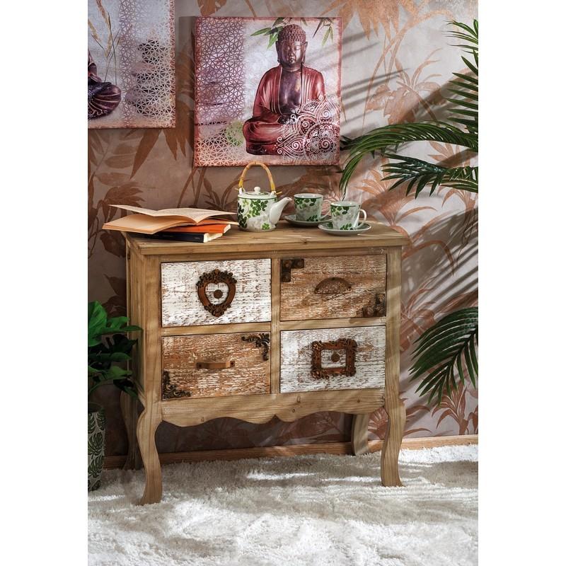 Mobiletto rustico cassettiera country nuova art.50665 consegna gratis-arredamentishop.it   Offerte mobili 145,00€ 145,00€ 1...
