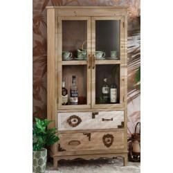 Mobile in legno vetrina vintage country nuova art. 50670 consegna gratuita-arredamentishop.it   Offerte mobili 240,00€ 240,0...