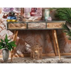Consolle ingresso in legno e ferro nuova art.51733 consegna gratis-arredamentishop.it   Offerte mobili 190,00€ 190,00€ 190,...