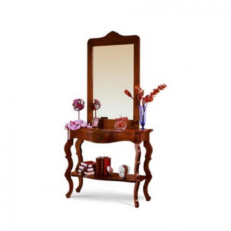 Consolle con specchio nuova art. 6017-6018A consegna gratuita