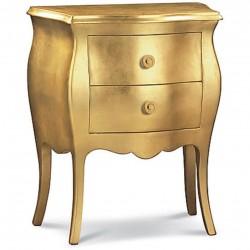 Comodino foglia oro nuovo art. 1252 consegna gratuita-arredamentishop.it   Offerte mobili 250,00€ 250,00€ 250,00€ 250,00€